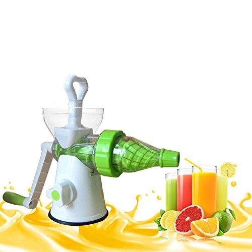 JKYQ Multi-Funktions-Frucht-EIS-Maschine Gesunde Entsafter Obst und Gemüse Hand-Manual Weizengras Entsafter Küche oder Esszimmer Hand Crank Reiben Kinder Saft Maschine