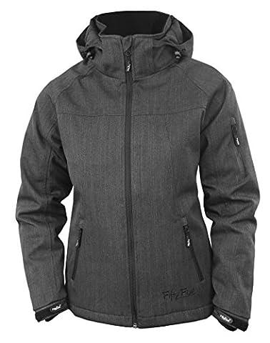 Fifty Five Damen Winterjacke   Outdoor-Jacke - Rankin anthracite 42 - FIVE TEX Membrane für Outdoor-Bekleidung
