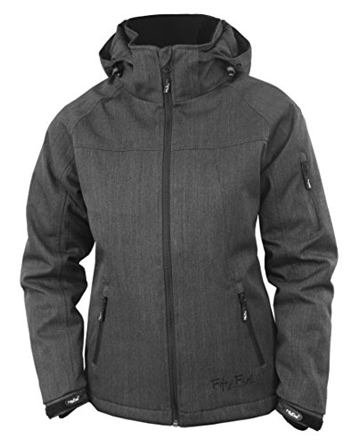 Fifty Five Damen Ski-Snowboard-Winter-Jacke - Rankin anthracite 42 - Funktions-Jacken mit FIVE-TEX Membrane / winddicht wasserdicht atmungsaktiv