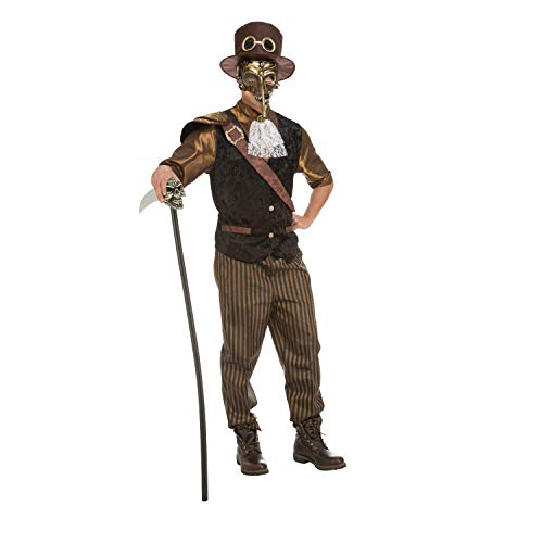 My Other Me Me-204368 Disfraz Steampunk Boy para Hombre, M-L (Viving Costumes 204368)
