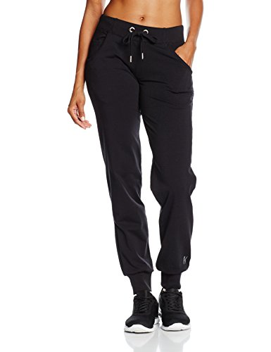 Venice Beach Damen Jogginghose Valley Tor Pants, Schwarz, M