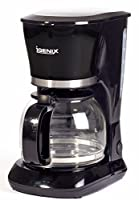 Igenix IG8126 10-Cup Filter Coffee Maker, 800 W - Black