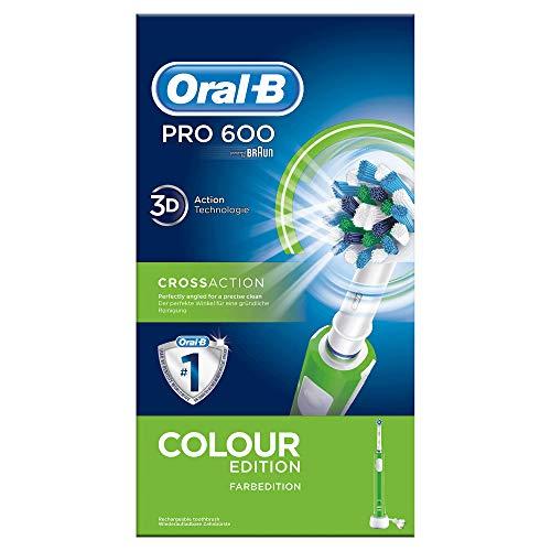 Oral-B, Cepillo de Dientes Eléctrico Recargable, con Tecnología Braun, Verde