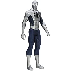 Marvel Ultimate Spider-Man Titan Hero Series - Figura de Spider-Man con arco – 30,48 cm