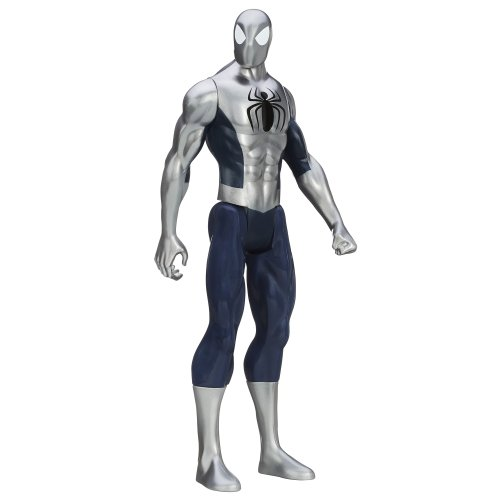 Marvel Ultimate Spider-Man Titan Hero Series Armored Spider-Man Figure - 12 Inch