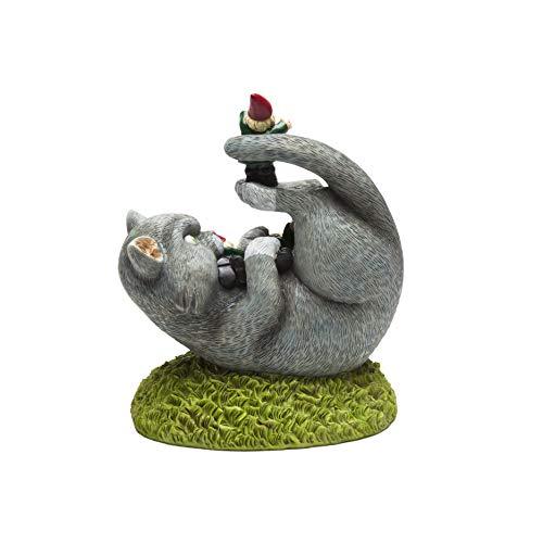 Bigmouth Inc Katzenangriff Gartenzwerg