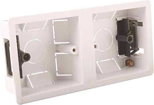 Dual Dry Lining / Knockout Box 35mm by Knightsbridge - Flush Inside Mount