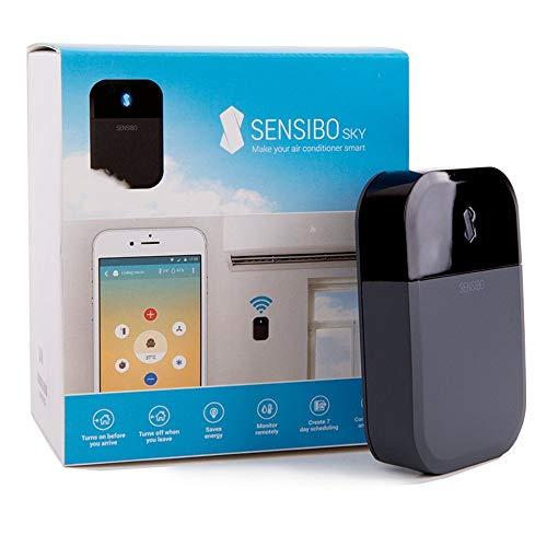 Sensibo Controlador de Aire Acondicionado Sky, Wi-Fi, Compatible con iOS y Android. Compatible con Amazon Alexa y Google Home