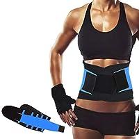 ZSZBACE Entrenador de Cintura, Cinturón de Pérdida de Peso, Cintura Cincher Trimmer Adelgazante Cinturón de Cuerpo Shaper para Hombres y Mujeres, 5 Tamaños (XXL)