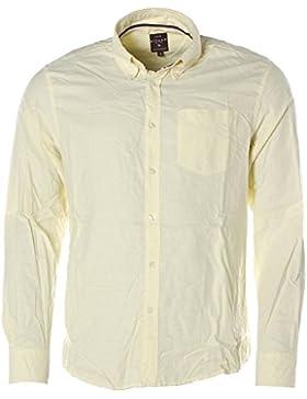 Kitaro - Camisa casual - con botones - Manga Larga - para hombre