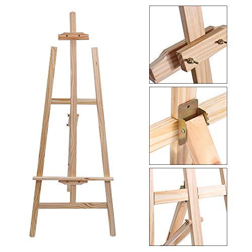SISHUINIANHUA Durable Holz Staffeleien Display Stativ Künstler Malerei Ständer Rack Hochzeit Tischkarte Ständer Halter Für Party Dekoration