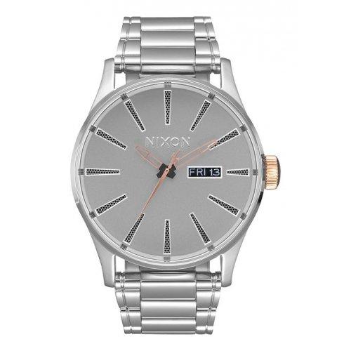 Reloj Nixon Star Wars Sentry SS A356SW2446 Hombre Gris Acero Calendario