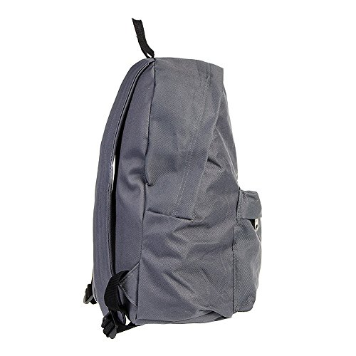 Just Hype Hype bag (Speck)(Plain)(All Over), Borsa a spalla uomo Plain Dark Grey