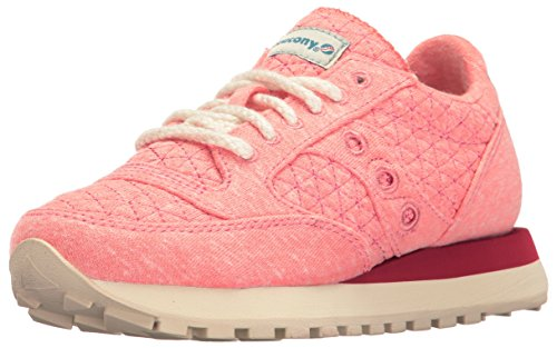 Saucony Jazz Original, Scarpe Low-Top Donna Rosa