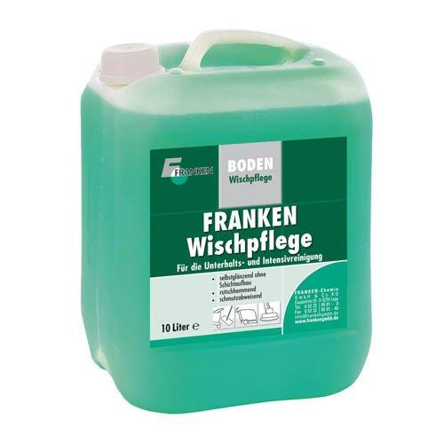 Franken Wischpflege 10 Liter - Sportböden PVC, Linoleum, Kautschuk, versiegeltes Partkett (Parkett Desinfektionsmittel)