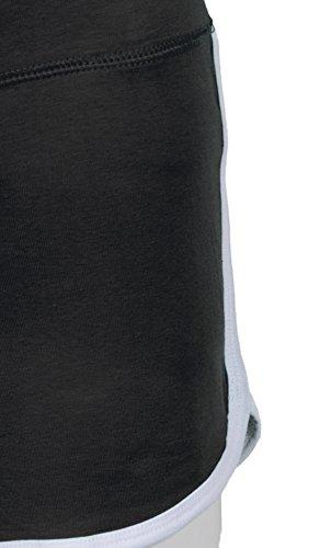 Mini Shorts Jersey Aktive Wear Sport figurbetont bequem - 3