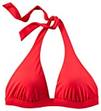 etirel Damen Bikini Oberteil Mia solid Neckholder red Mix & Match, Größe:36