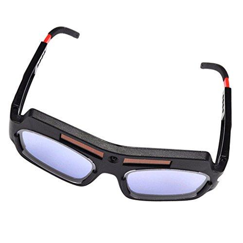 MagiDeal Solarbetriebene Auto Verdunkelung Schutzbrille Schweißerbrille Augenschutz Vollsichtbrille Arbeitsschutz