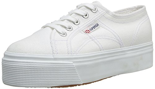 Superga 2790 Acotw Linea Up and Down, Sneaker Donna, Bianco (901 White), 39 EU (5.5 UK)
