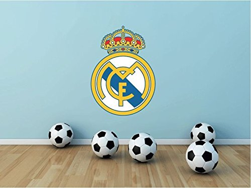 Real Madrid FC Spain Soccer Football Sport Home Decor Art Wall Vinyl Sticker 63 x 45 cm