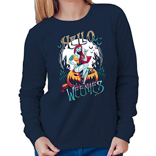 TeeTrumpet Hello Weenies Sally Nightmare Before Christmas Women's Sweatshirt