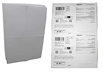 Easyship Sticky Labels (A4 Size Sheet with 4 Pre-Cut Labels Per Sheet) - to Print Easyship Order Labels & Invoices (1000 Sheets) (1000)