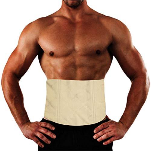 d191db29ff6 HHyyq Men s Sports Vest Hot Neoprene Workout Sauna Tank Top Zipper Corset  Waist Sweat Shapewear for