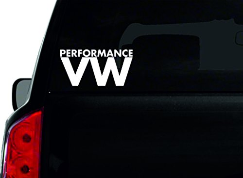 Performance VW Auto Fenster Aufkleber Neuheit Bumper Aufkleber A4 (Vw-performance Parts)