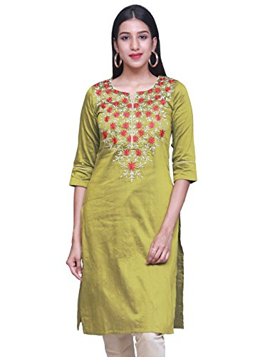 Estle Embroidered Straight Cut Kurta