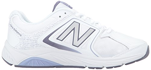 New Balance WW847 Synthétique Chaussure de Marche White/Grey