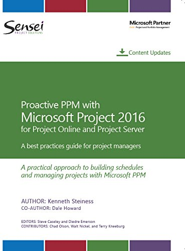 Proactive PPM with Microsoft Project 2016 for Proj