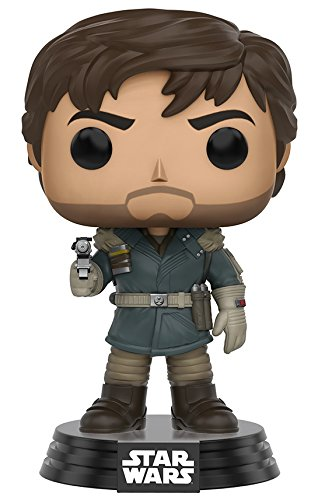 Figurine Pop ! Star Wars : Rogue One 139 - Bobble Head Captain Cassian Andor