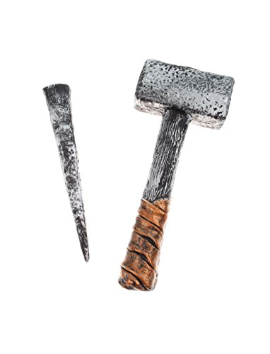 Vampir-Jäger Set, Hammer u. Pfahl