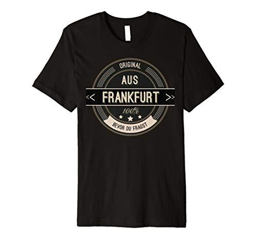 Frankfurt T Shirt für Männer Frauen und Kinder