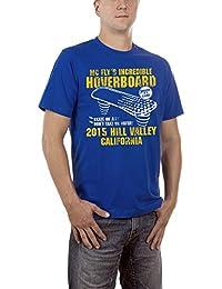 Touchlines Herren T-Shirt Hoverboard - Zurück in Die Zukunft