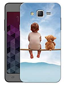 """Humor Gang Baby Friend Cute Printed Designer Mobile Back Cover For """"Samsung Galaxy On5"""" (3D, Matte Finish, Premium Quality, Protective Snap On Slim Hard Phone Case, Multi Color)"""