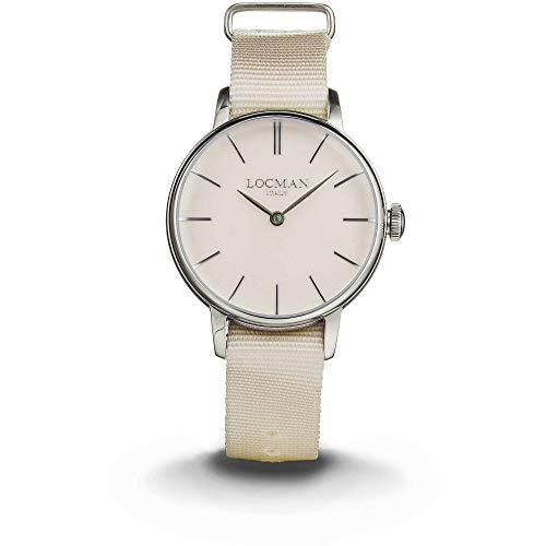 orologio solo tempo donna Locman 1960 casual cod. 0253A10A-00CINKNJ
