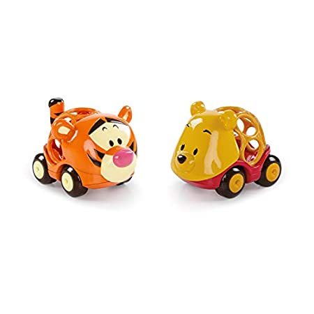 Bright Starts, Disney Baby, Winnie Puuh Go Grippers Autos aus robustem, leicht greifbarem Material, perfekt für…