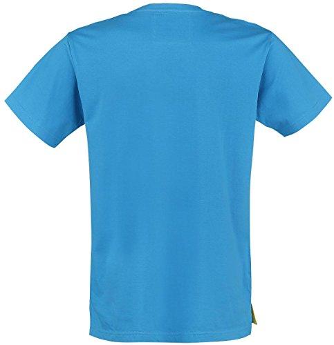 Beavis and Butthead Herren T-Shirt,Swim, Blau Blau