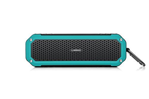 LAMAX BEAT Sentinel SE-1 Mobiler Bluetooth Outdoor Speaker Lautsprecher mit UKW Radio und SD Card Slot