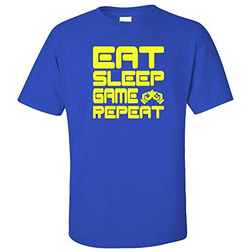 Child's Gamer T-Shirt Eat Sleep Game Repeat