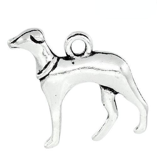 packet-of-10-x-antique-silver-tibetan-20mm-charms-pendants-greyhound-zx06355-charming-beads