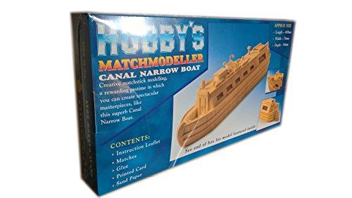 Canal Narrow Boat - Matchmodeller stick Modellbau Bastelset -