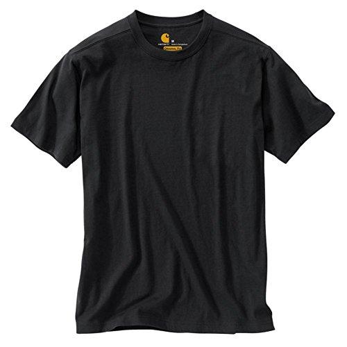 Carhartt Uomo Big & Tall Non Maddock Pocket t-Shirt Manica Corta Nero