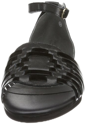 Flip-flop azteca 10320, sandales femme Noir - Noir (000)