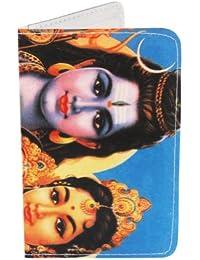 Porte-cartes Shiva, Parvati, Ganesh + pour Cartes de Visite et Cartes Bancaires