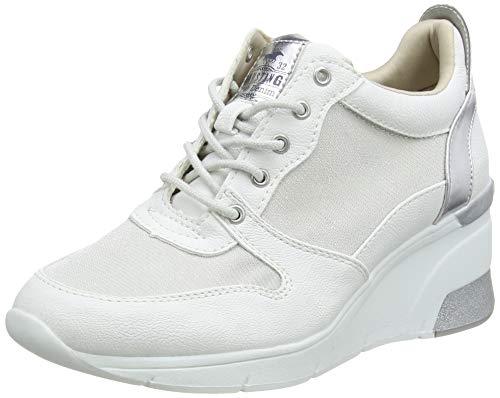 Mustang Damen 1303-301-1 Sneaker, Weiß (Weiß 1), 37 EU