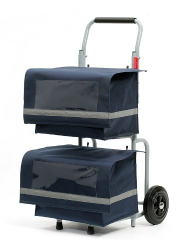 Andersen Giornale Roller Trolley Alpha con 2 tasche