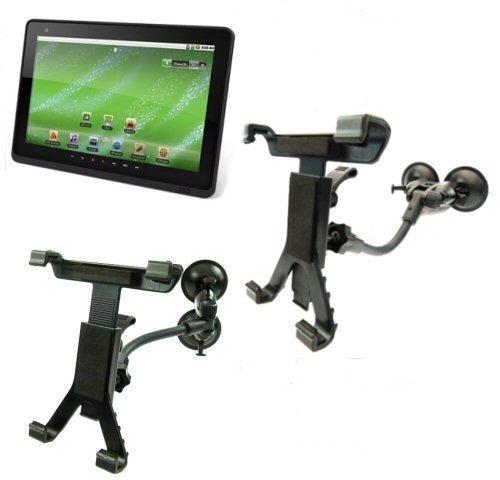 Ultimate Addons Duale Saugnapf Windschutzscheiben Halterung passt ZiiO 10inch Android Tablet (SKU 10153)