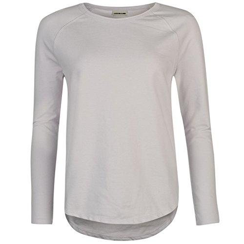 Noisy May Pana Femme Sweatshirt Sweater Top Haut Casual Sport Manche Longue Lilas